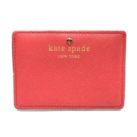 kate spade ケイトスペード 名刺入れ カードケース マルチ パスケース 定期 ピンクカラー レディース 婦人雑貨 ブランド 管理RY18005911