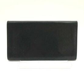 HERMES エルメス 長財布 シチズンツイルロング シルクイン 札入れ レザー カード 黒 ブラック メンズ ブランド 管理RY19001110