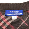 BLUE LABEL blue label no sleeve knit sweater size 38(M) Lady's women's wear tops brown brand management RY19001229