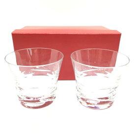 未使用 BACCARAT バカラ ペア ロックグラス ガラス製品 食器 キッチン インテリア ブランド 箱付き 管理RY19001237