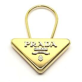 PRADA プラダ キーリング キーケース 鍵 ロゴ キーホルダー ゴールド シルバー カラー ブランド メンズ レディース 管理RY19004938