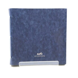 HERMES エルメス CD DVD Blu-ray ケース 紺色 ネイビー 8枚収納可能 マルチケース 紙製品 ブランド 雑貨 管理RY20000330