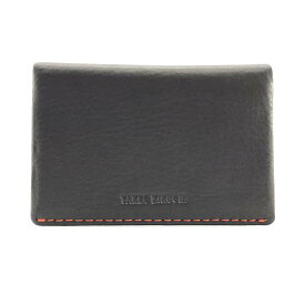 未使用 TAKEO KIKUCHI タケオ キクチ カードケース パスケース 定期入れ 名刺入れ ブラウン 茶色 レザー ビジネス メンズ 管理RY20001465