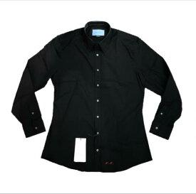 GUCCI グッチ カッターシャツ メンズ トップス コットン ブラック 黒 サイズ15++ ヘビ スネークプリント イニシャル入り 管理RY20002994