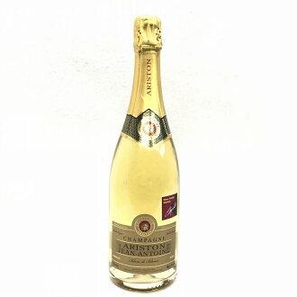 100% of ARISUTON JEAN-ANTOINE Alice ton Gene Ann Toni buran de buran Champagne Chardonnay used undeveloped tube sealing law of nature YI10560