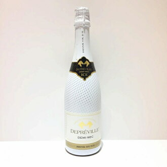 In ドゥプレヴィル drink on ice DEPREVILLE France sparkling wine 750 ml 11 degrees Old; unopened management RT10896