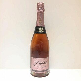 In フレシネセミセコロゼコルドンロサード Freixenet Cordon Rosado Spain sparkling wine 750 ml 12 degrees Old; unopened management RT10889