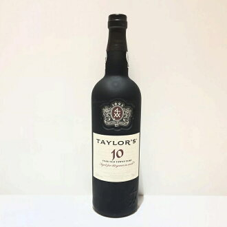 During Taylor TAYLOR'S toe knee port TAWNY PORT ten years Old; unopened liquor red wine Portugal wine management RT12186