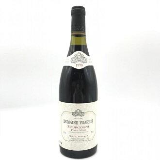 ドメーヌヴォワリックブルゴーニュルージュ 1998 Pinot Noir 750 ml VOARICK Bourgogne France red wine management YI10839