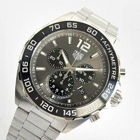 極美品TAG-HEUER/タグホイヤー フォーミュラ1クロノグラフ CAZ1011稼働品 ダイバーズ メンズ腕時計 クォーツQZ 管理YO15691