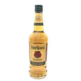 Four Roses フォアローゼス ウイスキー モルト・グレーン イエローラベル 容量700ml アルコール度数40% 未開封 中古 管理HS17346