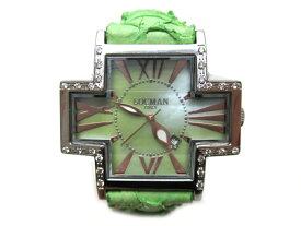 LOCMAN(ロックマン)King Fish グリーン文字盤 SS クオーツ レディース腕時計【中古】