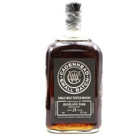 ハイランドパーク25年 700ml スコッチウイスキー モルト 未開封 55.7% HIGLAND PARK お酒 【中古】【古酒】