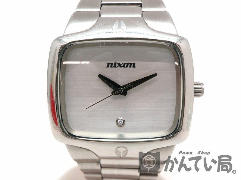NIXON【ニクソン】THE PLAYER 腕時計 クオーツ 電池式 メンズ ステンレス【中古】USED-5 質屋 かんてい局茜部店 a18-4756
