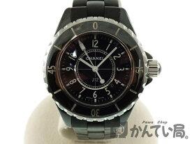 e8711bb9d260 CHANEL【シャネル】 H0681 J12 セラミック ラバー クォーツ 電池式 レディース 腕時計 電池交換済み