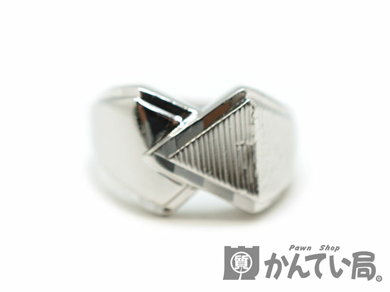 Pt900  プラチナリング 指輪  ファッションリング 新品仕上げ済み 約17号 USED-B 【中古】 質屋 かんてい局北名古屋店 n17-2116
