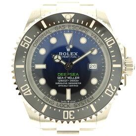 ROLEX【ロレックス】 126660 シードゥエラー ディープシー ランダム番 腕時計 メンズ Dブルー グラデーション プロダイバー ステンレス 3900m防水 2020年購入 新ギャラ【中古】USED-10 質屋 かんてい局北名古屋店 n20-6986