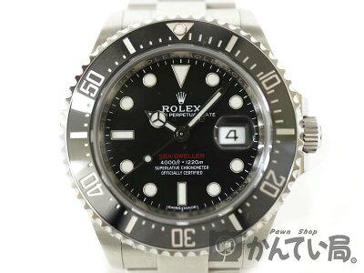 ROLEX【ロレックス】126600シードゥエラー赤シードメンズ腕時計ランダム番