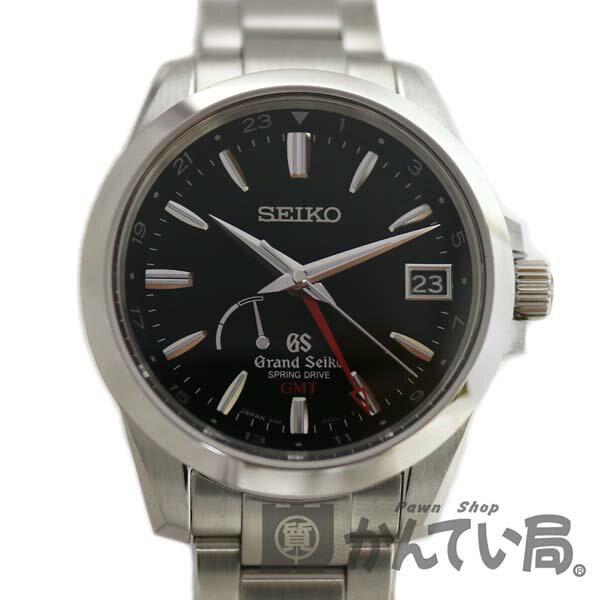 GRAND SEIKO 【グランドセイコー】 SBGE013 スプリングドライブ GMT メンズ 腕時計 【中古】 USED-SA かんてい局小牧店 c17-1683