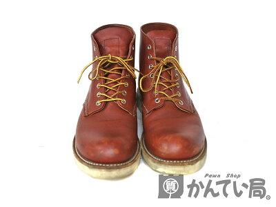 REDWING【レッドウィング】8166クラシックプレーントゥ28.5cmレッド系レザーブーツメンズ革靴【中古】質屋かんてい局小牧店c18-6163