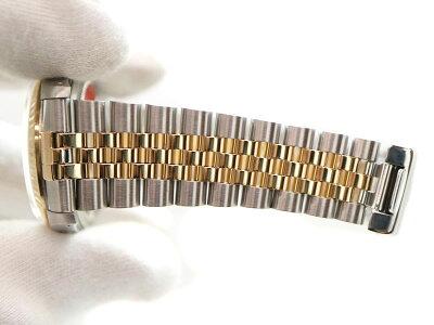 ROLEX【ロレックス】16233GデイトジャストコンビダイヤE番メンズ腕時計自動巻SS×K18【中古】質屋かんてい局茜部店a18-9339USED-9