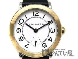 M BY M JACOBS【マークバイマークジェイコブス】 クォーツ腕時計 MJ-1514 ステンレススチ—ル 革ベルト クォーツ 腕時計 ブランド ファッション レディース【中古】 USED-10 質屋 かんてい局茜部店 a19-9784