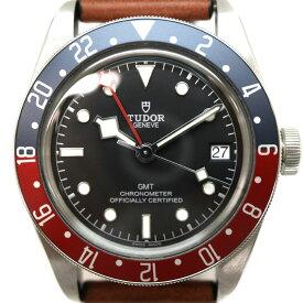 TUDOR【チューダー/チュードル】79830RB ヘリテージ ブラックベイ GMT メンズ 腕時計 ペプシカラー USED-8【中古】 A2007689 質屋 かんてい局茜部店