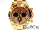 ROLEX【ロレックス】116505デイトナピンクエバーローズゴールドクロノグラフメンズ自動巻腕時計【中古】かんてい局本社F68-3733
