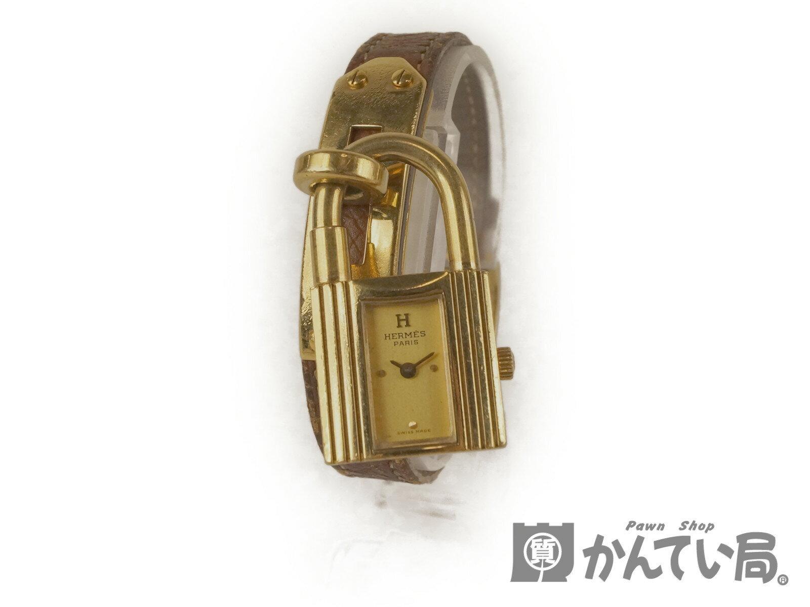 【HERMES】エルメス ケリーウォッチ レディース腕時計  【中古】F68-0255 USED-C