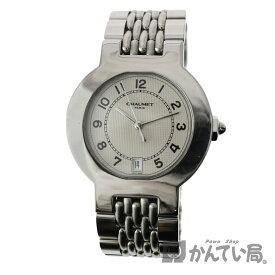 【ショーメ】 クォーツ 電池 35mm 腕時計 CHAUMET ステンレススチール 日付 腕回り約16.5cm【中古】USED-6 質屋 かんてい局小牧店 c20-3398