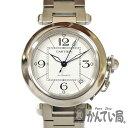Cartier【カルティエ】 W31074M7 パシャC 腕時計 レディース ステンレス 機械式 メンテナンス済み 保証書有 白文字盤 …