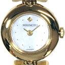 [南店]【極美品/付属品〇】ミキモト 1E20-2080 クオーツ式 腕時計 パールブレス シェル文字盤 ゴールド 真珠 レディ…