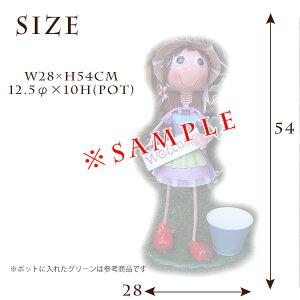 ブリキの人形ブリキ製_サイズ