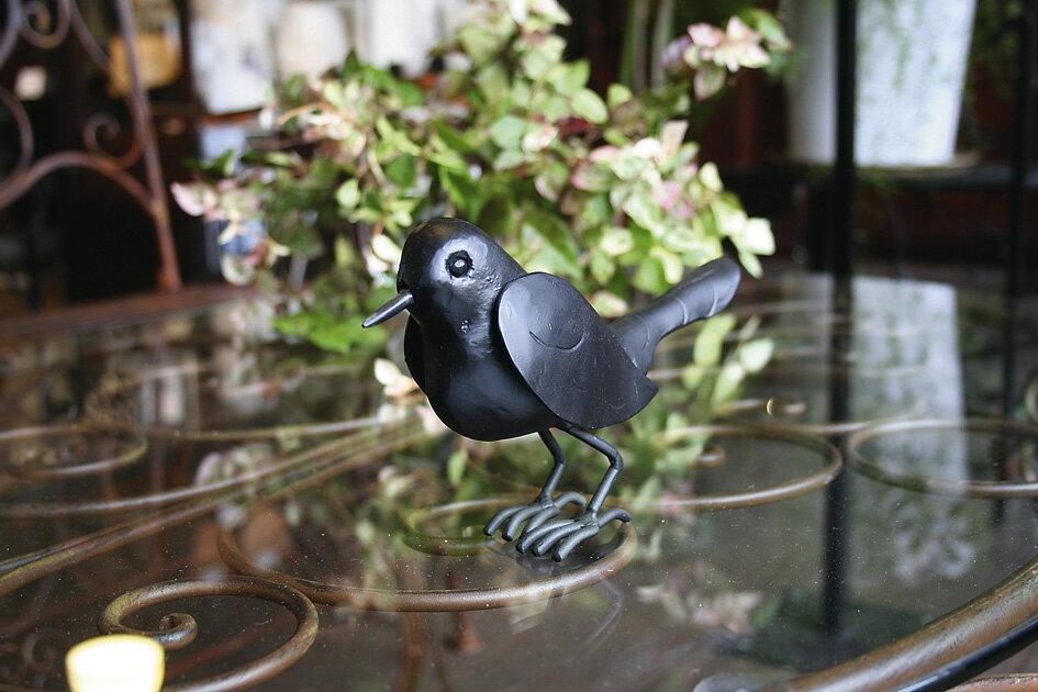 アイアン雑貨 小鳥の置物 鳥オーナメント アイアンバード バード