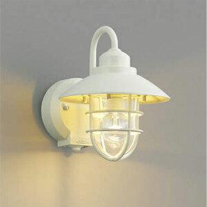 玄関照明 外灯 LED 照明 ウォールライト ポーチライト LEDライト 照明 屋外 エクステリアライト エクステリア ブラケット 外灯 おしゃれ レトロ アンティーク 人感センサー付 オフホワイト