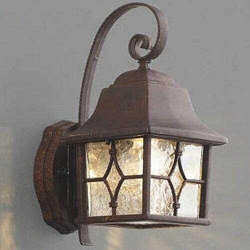 玄関照明 外灯 ポーチライトLED ランプ 門灯 壁掛け照明 センサーなし LED一体型 節電対応 外灯 照明 ハンドメイドのポーチ灯 LED照明 アンティーク色