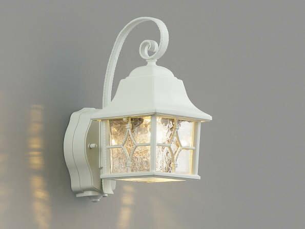 ポーチライト ポーチライトLED 外灯 ランプ 門灯 LED 外灯一体型 壁掛け照明 節電対応 外灯 照明 ポーチライト 照明器具 ハンドメイドのポーチ灯 人感センサー付 白色
