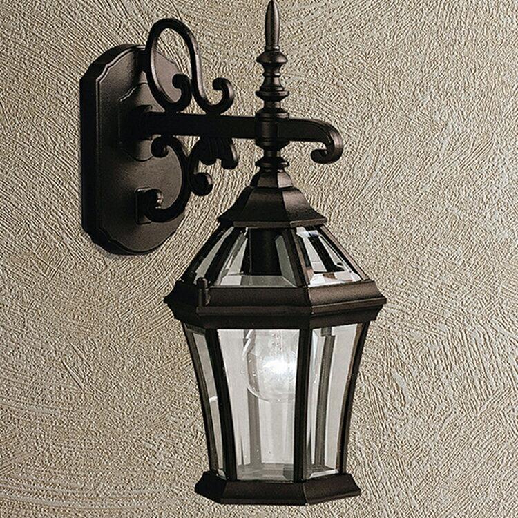 玄関照明 外灯 ポーチライト LED ランプ 門灯 壁付け照明 センサーなし 節電対応 エクステリアライト 外灯 照明 アンティーク風 レトロ おしゃれ オールドスタイル玄関照明 外灯 ブラック