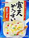 かんてんぱぱ 寒天ぞうすい ホタテ・ちんげん菜 21.3g10個セット