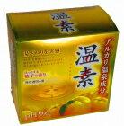 アース製薬 温素 ほっとする柚子の香り(無色透明の湯)30グラム×15包x3個セット(4901080553911-3)