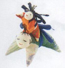 親子人形 TKY-37 ちりめんキット 地球屋 【KY】 つるし飾り パーツ 手作り