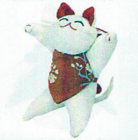 招き猫 TKY-56 ちりめんキット 地球屋 【KY】 つるし飾り パーツ 手作り