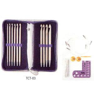 CarryT キャリーティー TCT-03 切り替え式アフガン針セット チューリップ 【KY】 付け替え式 編み針