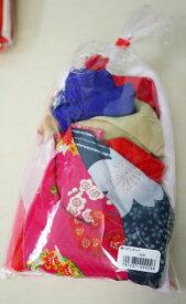 地球屋 絹乱切りハギレセット 10枚入り 色取り混ぜセット 【KY】 つるし飾り パーツ 手作り
