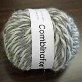 ダルマ毛糸 コンビネーションウール【KY】 毛糸 編み物 セーター ベスト マフラー スヌード 極太