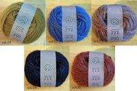 ギークのストールキット◎毛糸蔵オリジナルパック編み物キットダルマ手編糸毛糸
