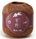 ダルマ レース糸#40紫野 25g サマーヤーン 毛糸