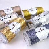DMCDIAMANTGRANDEディアマントグランデメタリック刺繍糸DMC380【KY】ラメ刺しゅう糸タティング