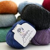 NaturaLinenナチュラリネンDMC【KN】並太麻リネンベストバッグ帽子毛糸サマーヤーン