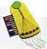 DMCマイフレンドシップブレスレットメーカーTraveler(トラベラー)刺しゅう糸20カセ付きミサンガ作成台